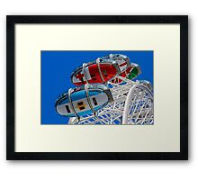The London Eye Rugby World Framed Print
