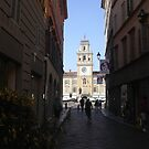 PARMA ...La strada che porta a P.zza Garibaldi--- ISOLAPEDONALE - PARMA  ITALIA - EUROPA- VETRINA RB EXPLORE 29 GIUGNO 2013 ! by Guendalyn