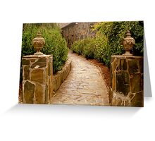 Stoned Pathway  ^ Greeting Card
