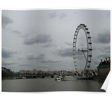 Eye on the River Thames Poster
