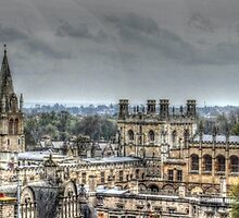 Dreaming Spires - Oxford  by Victoria limerick