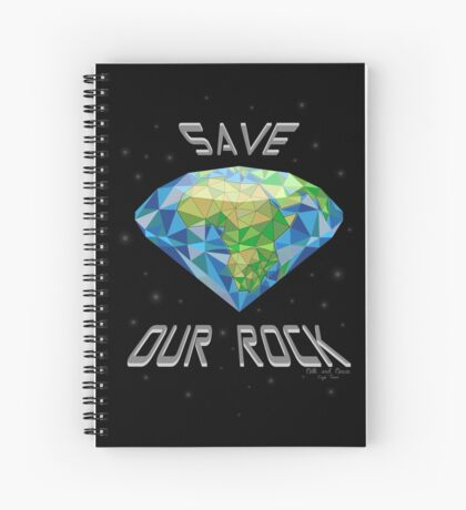 Save Our Rock Spiral Notebook