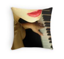 The Beautiful People - Lips Throw Pillow
