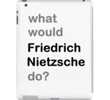 Nietzsche? iPad Case/Skin