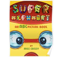 Super Alphabet Book Cover Poster