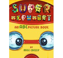 Super Alphabet Book Cover Photographic Print