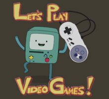 BMO - Let's Play Video Games! by mellamomateo