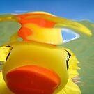 Rubber Duckie Snorkeling by ArtThatSmiles