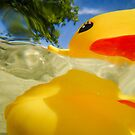 Abstract of Rubber Ducky by ArtThatSmiles