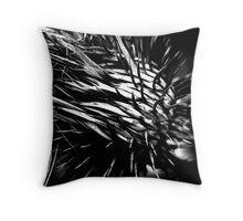 Seed Bur Throw Pillow