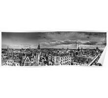 Oxford Panoramic Views Poster