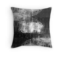 P1430721 _Luminance _Rasterbator _XnView _GIMP Throw Pillow