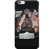 THE WEST WING iPhone Case/Skin