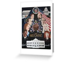THE WEST WING Greeting Card