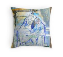 Venus Madonna Throw Pillow