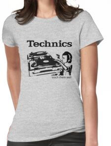 technics 2 Womens Fitted T-Shirt