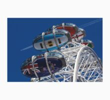 The London Eye and Jet Aircraft Kids Tee