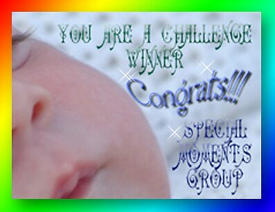 special moments winner banner challenge by vigor