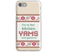 2 Chainz in the kitchen yams everywhere (birthday song) iPhone Case/Skin