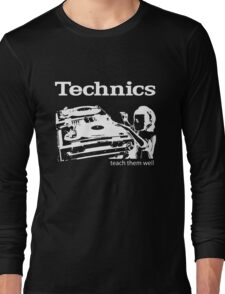 technics 3 Long Sleeve T-Shirt