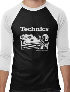 technics 3 Men's Baseball ¾ T-Shirt