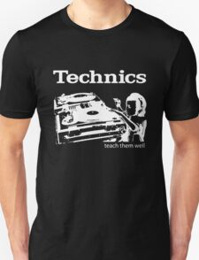 technics 3 Unisex T-Shirt