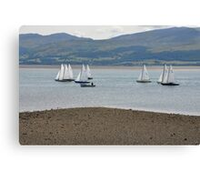Boat Race Canvas Print