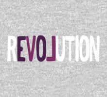 Revolution Love! (White) One Piece - Long Sleeve