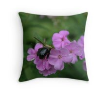 "Bumble Bee 4 ""I think I can"" Throw Pillow"