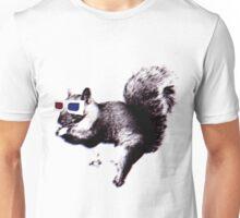 3D squirrel-vision Unisex T-Shirt