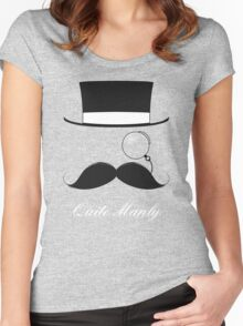 The Quite Manly Tee Women's Fitted Scoop T-Shirt