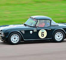 Triumph TR4 No 6 by Willie Jackson