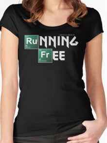 Running Free Women's Fitted Scoop T-Shirt