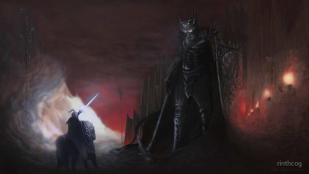 The high king and dark lord by rinthcog