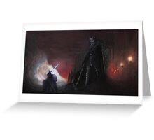 The high king and dark lord Greeting Card