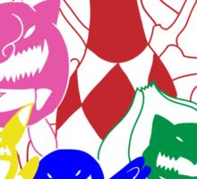 Poke'rangers Sticker