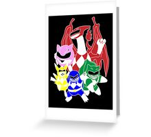 Poke'rangers Greeting Card