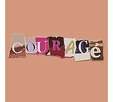 Klaine Courage Photographic Print