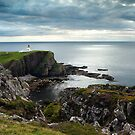 Stoer Lighthouse - Under A Cauldron Sky by Kevin Skinner