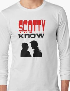 Scotty doesn't know (red) Long Sleeve T-Shirt