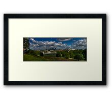 Greenwich Panoramic Framed Print