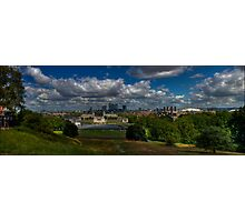 Greenwich Panoramic Photographic Print