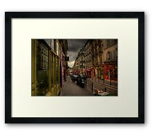 Street in Paris Framed Print