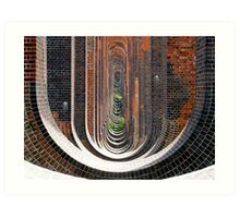 Below the Viaduct (11 Million Bricks) Art Print