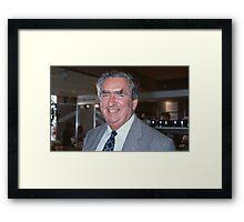 Rt.Hon. Denis Healey Framed Print
