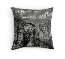 The Crossing Point Throw Pillow