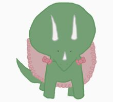 Sara the Triceratops by morphicmagic