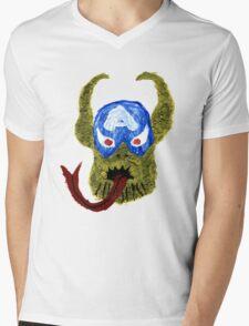 Captain Skrullmerica Mens V-Neck T-Shirt