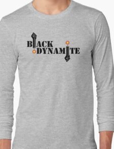 Black Dynamite (Re-exploded) Long Sleeve T-Shirt