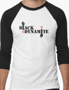 Black Dynamite (Re-exploded) Men's Baseball ¾ T-Shirt